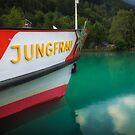 Boat to Jungfrau by Adam Northam