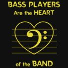Bass Players Are the Heart of the Band by Samuel Sheats