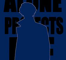 Alone Protects Me Sherlock by rwang