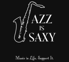 Jazz is Saxy by Samuel Sheats