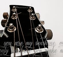 You Are My Sunshine by kimroseadams