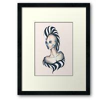 Lady Z Framed Print