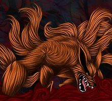 .:Kurama:. The Nine Tailed Fox by Kimberly Castello