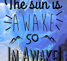 The Sun is Awake!-Frozen by madisonrankinx