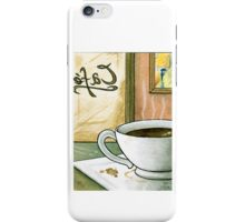 Warm Cafe iPhone Case/Skin