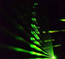 Green Laser Lights by Belinda Richardson
