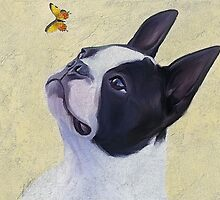 Jack and the butterfly by Cazzie Cathcart