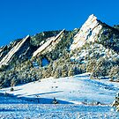 Flatirons Icing by Gregory J Summers