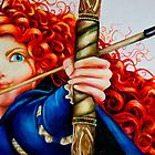 Merida from Brave by weronikart