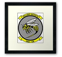 VAQ - 138 Airborne Electronic Attack Squadron - Yellow Jackets Framed Print
