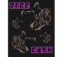 Zerg Rush Poster Purple Photographic Print