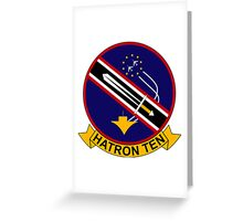 VAH - 10 HATRON TEN - Heavy Attack Squadron - Vikings Greeting Card