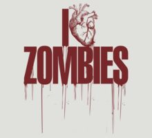 I Heart Zombies  by lukeyp