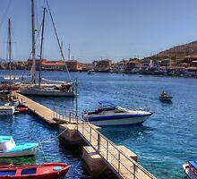 The Yacht Pier by Tom Gomez