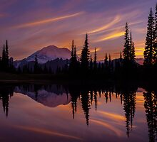 Tipsoo Rainier Firestorm by mikereid