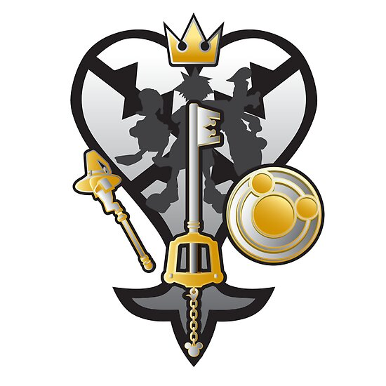 (Kingdom Hearts) All for One and One for All Silver/Gold by PixelStampede