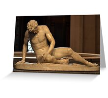 The Dying Gaul - National Gallery of Art - Washington D.C. - Plate No. I  Greeting Card