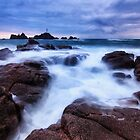 The lighthouse of Corbiere by Gary Power