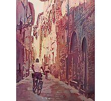 Bike Lucca Photographic Print