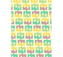 Pastel Pattern Photographic Print
