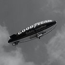 Good year Blimp by davesphotographics