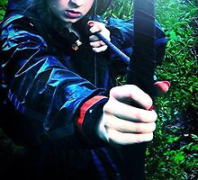 Katniss Everdeen (Hunger Games Cosplay)  by Hayleyat221B