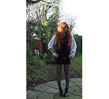 Amy Pond (The Eleventh Hour)  Photographic Print