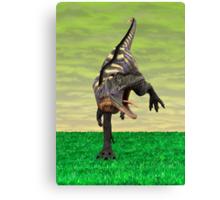 Dinosaur Aucasaurus Canvas Print