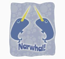 Double Narwhal Kids Clothes
