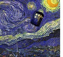 Vincent & The Tardis  by Crystal Friedman