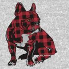 Plaid bulldog  by rlnielsen4