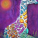 Giraffe of Many Colors by Laura Barbosa