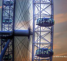London Eye by Huskyfan