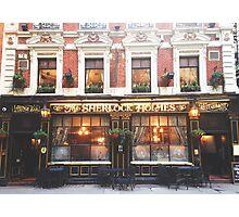 sherlock holmes restaurant Photographic Print