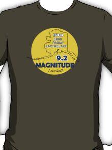1964 GOOD FRIDAY EARTHQUAKE CIRCLE T-Shirt