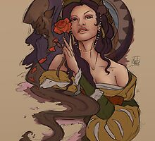 Belle and Beast by nicolealesart