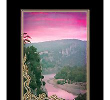 Phone case: Canoeing at Dawn by Steven House