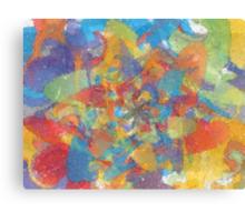 painted loops spun Canvas Print