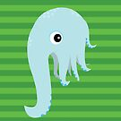 Elephant Squid by makoshark