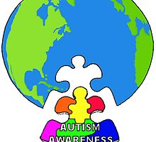 Autism Awareness by Skree