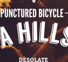 Punctured Bicycle Sticker