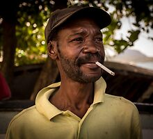 Worker Portrait: Alexander, Dominica by thewaxmuseum