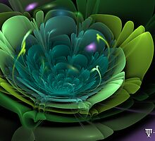 Fractal bloom2 by Zoe Gentz