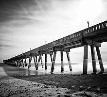 Johnnie Mercer's Fishing Pier  by NFirebaugh