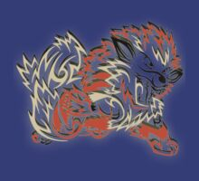 Tribal Arcanine by BadrHoussni