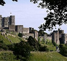 Dover Castle by AndyHuntley