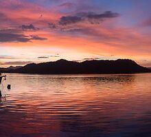 Sunset Before Typhoon Yolanda by Paul Weston