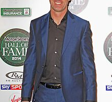 David Brabham at the MotorSport Hall of fame 2014 by Keith Larby