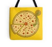 Pizza Vinyl Tote Bag