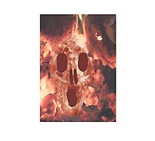 Skull Burning Photographic Print